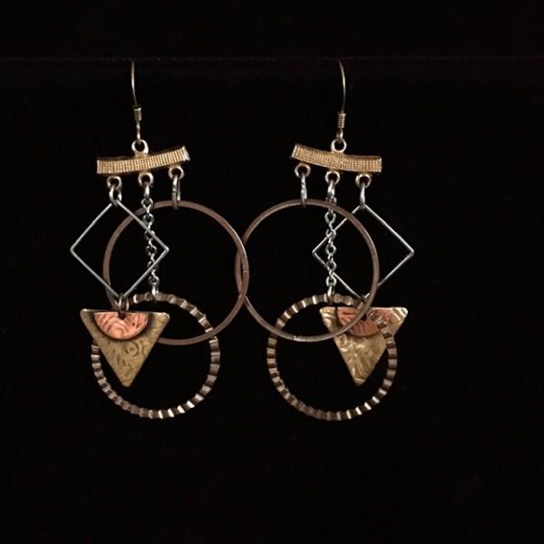 Earrings by Luann Roberts Smith