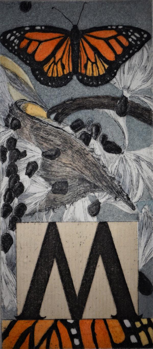 M (Unframed) by Julie Sutter-Blair