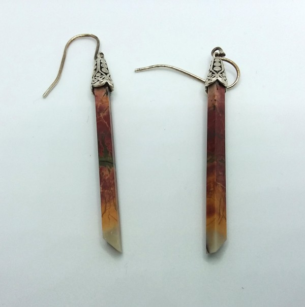 Quartz Stick Earrings by Judi Werner