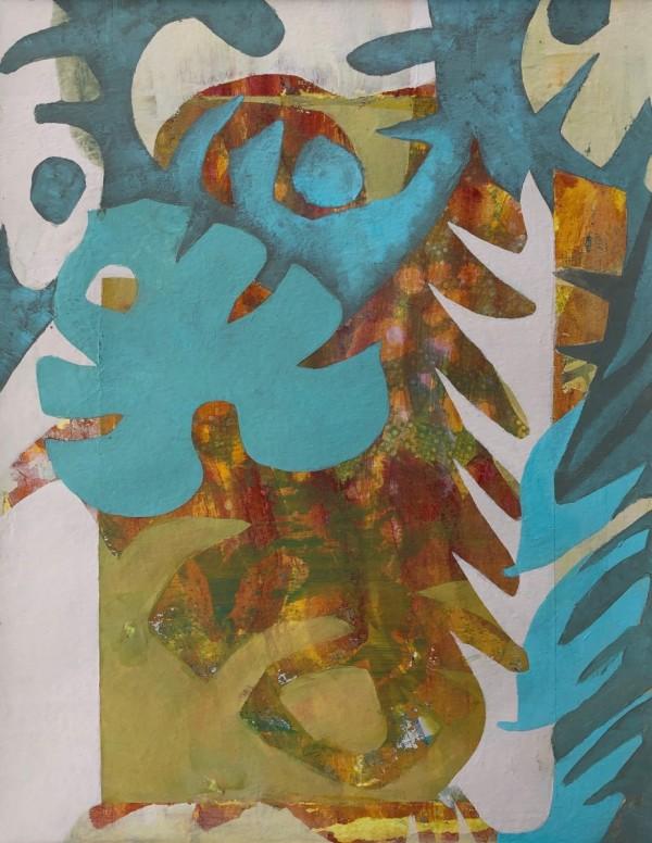 Relics (Unframed, matted original) by Brit Borcher
