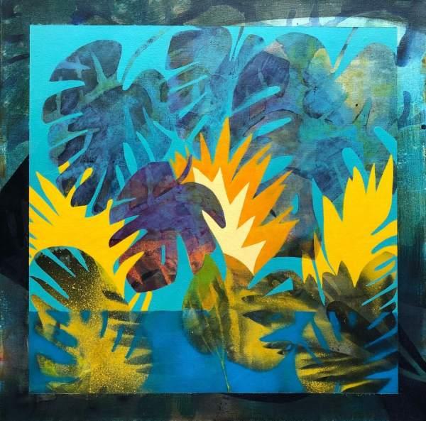 Sunday's Shore (Original) by Brit Borcher