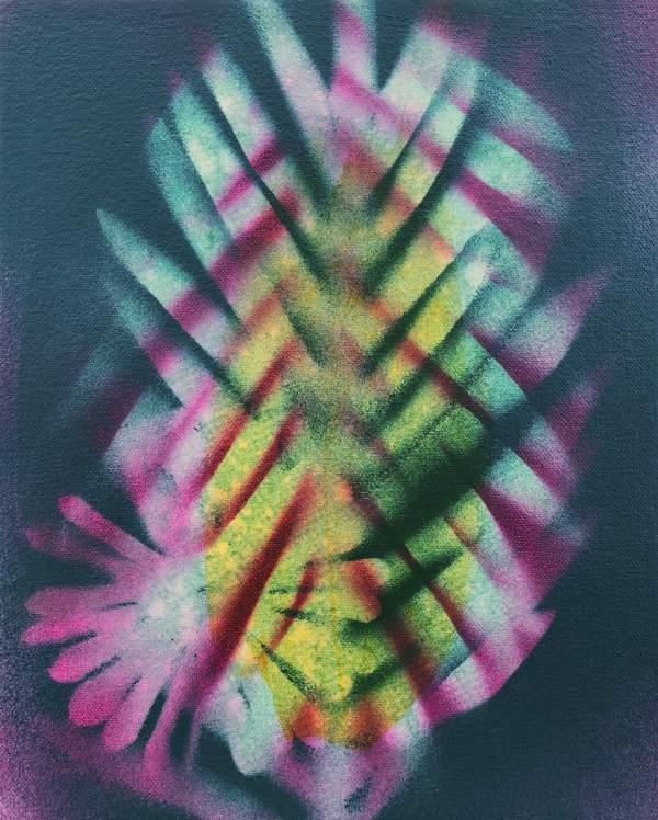 Tropic Shade (Original) by Brit Borcher