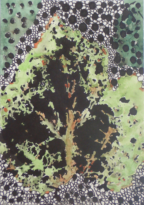 Gathered leaves #1 by CLARE SMITH