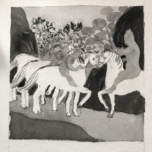 Le songe de Rhonabwy (Dream of Rhonabwy) by CLARE SMITH