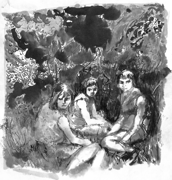 Family stories: Three Girls, (Remember Caroline?) by CLARE SMITH