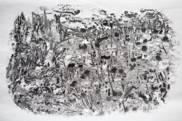 Encountering Place: Boldshaves Garden #2 (Sold) by CLARE SMITH
