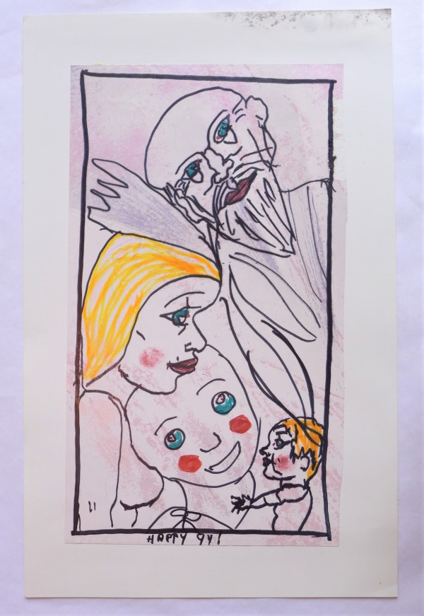 Sage, Mother, Child and Clown by Rudy Rotter