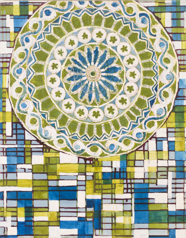 Rose Window, St. Francis Cathedral, Assisi, Italy by Anne KM Ross