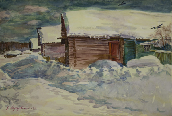 Winter. January by Vadim Berezovsky