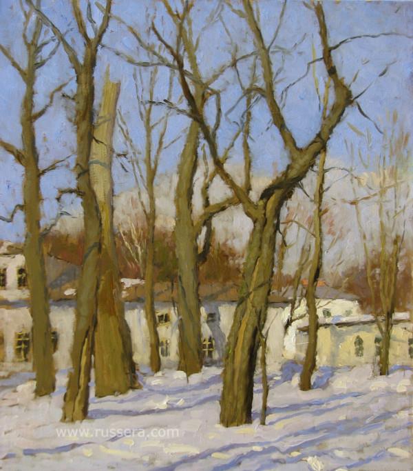 Early Spring by Vasily Hudyakov