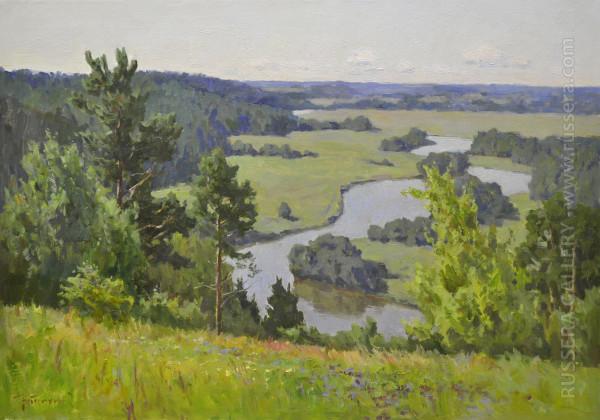 URZHUMKA RIVER by Sergey Nebesihin