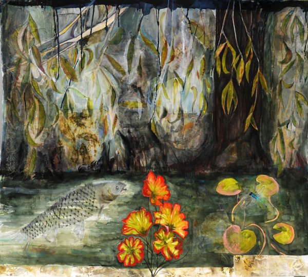 Pond life by Marina Marinopoulos