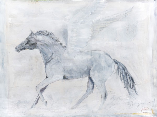 Winged horse by Marina Marinopoulos