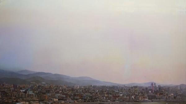 從內湖山上看台北 (3) Taipei Landscape from Nehu Mountain by 周政緯 CHOU Cheng Wei