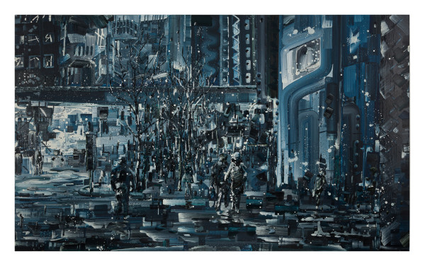 折射的夜晚 Night Reflection by 邱建仁 CHIU Chien Jen