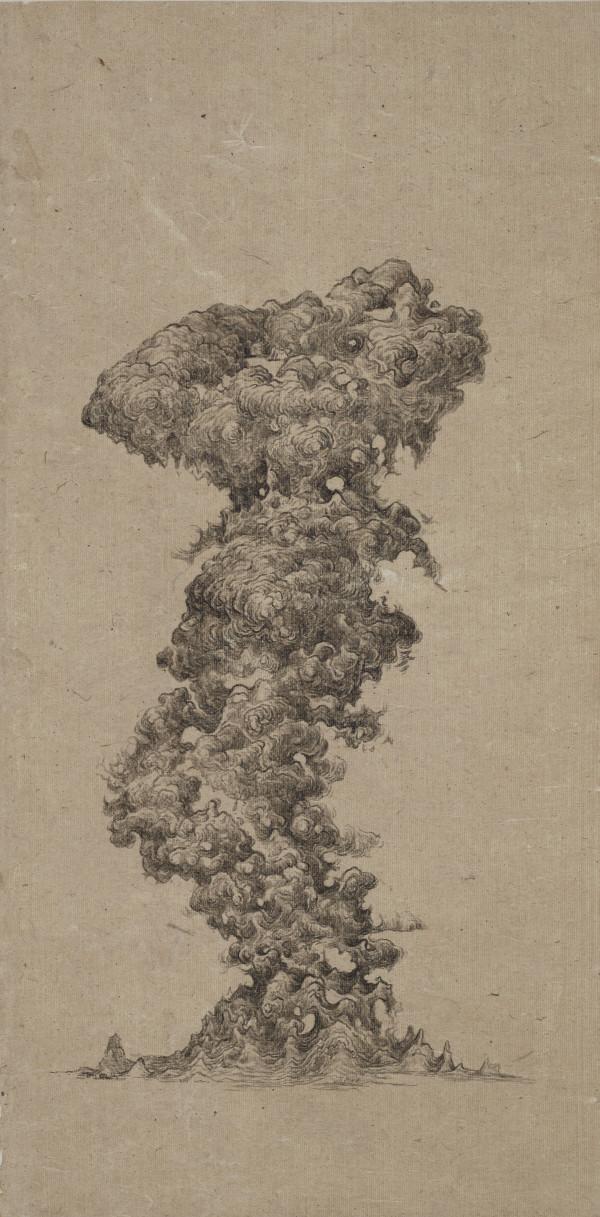 昇龍之柱 Pillar of Rising Dragon by 白雨 Bai Yu