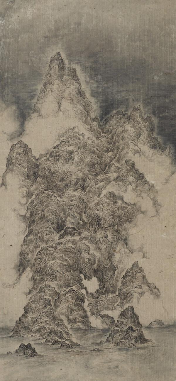 定海岩 Rock of Ocean Settler by 白雨 Bai Yu