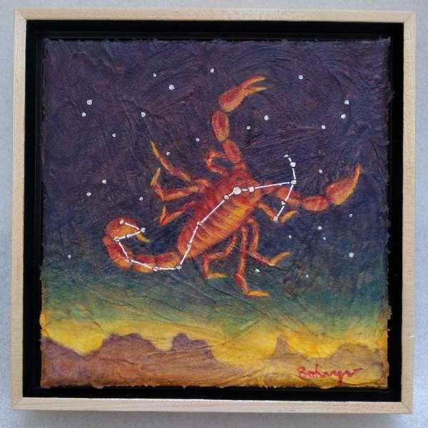 Constellation Scorpius由Lisa Bohnwagner