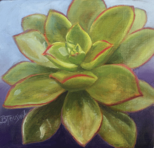 Sweet Succulent by Barbara Teusink