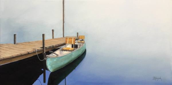 Canoe for Two by Barbara Teusink