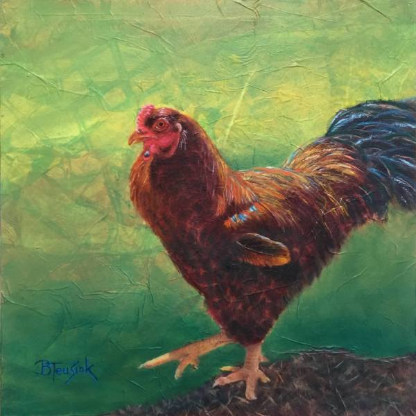 Roostertude by Barbara Teusink