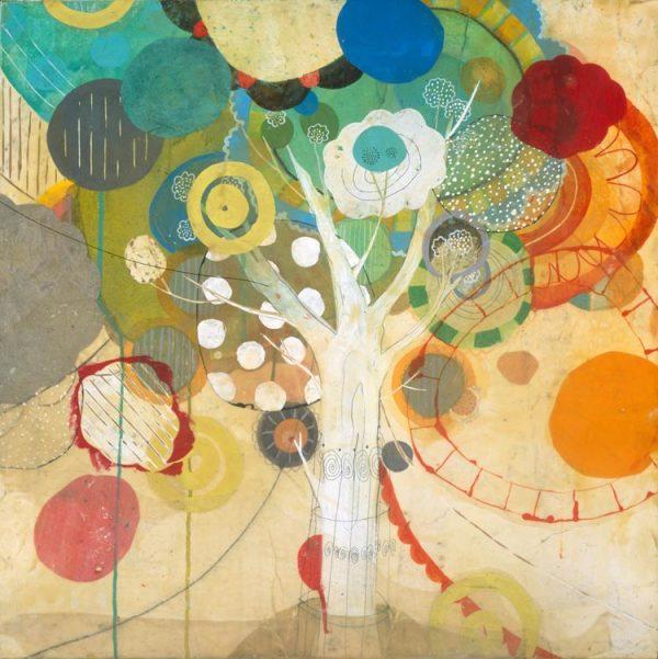Peach Tree 5 by Liz Tran