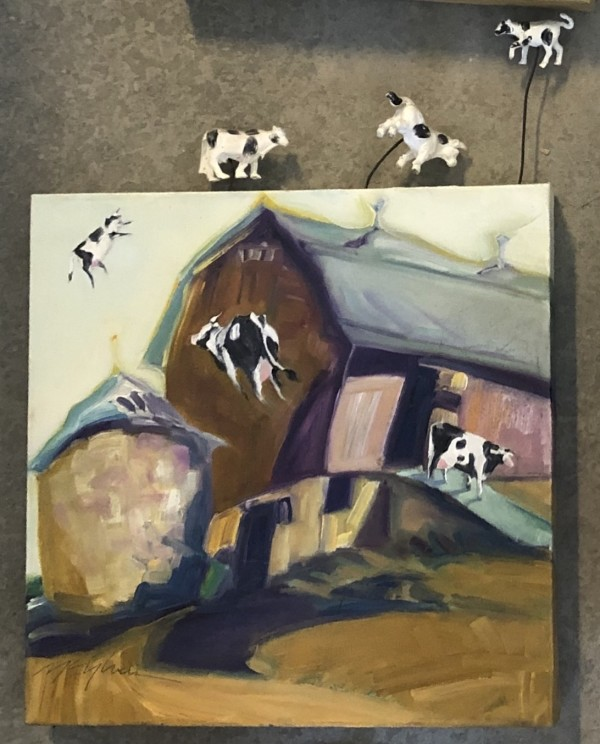 Who Let the Cows Out by Peggy Mcgivern