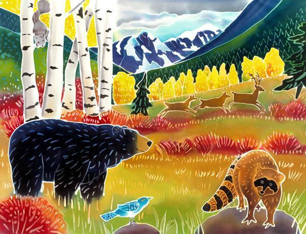 Bear Meets Raccoon by Harriet Peck Taylor