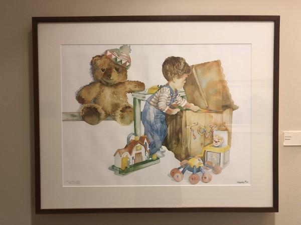 Playmates by Ellie Weakley
