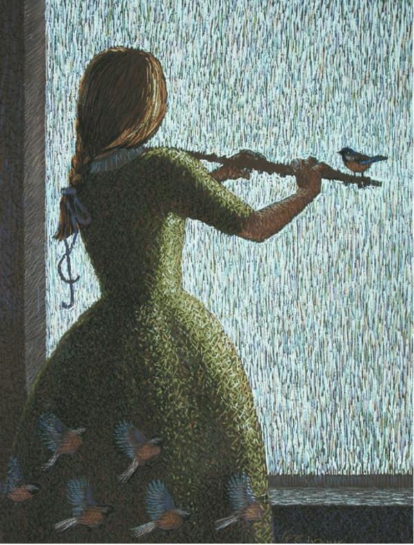 Magic Flute by A.O. Ivanov