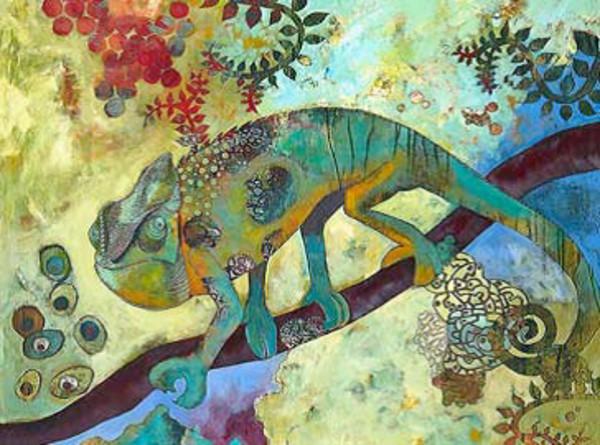 Iguana by Raina Gentry