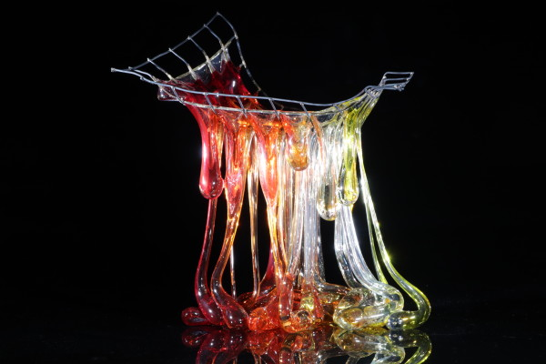 Flow - 4 by Linda van Huffelen