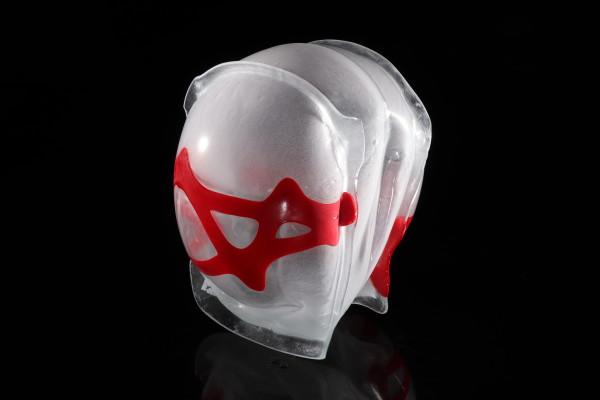 Inflatable 43 (Red rooster) by Linda van Huffelen