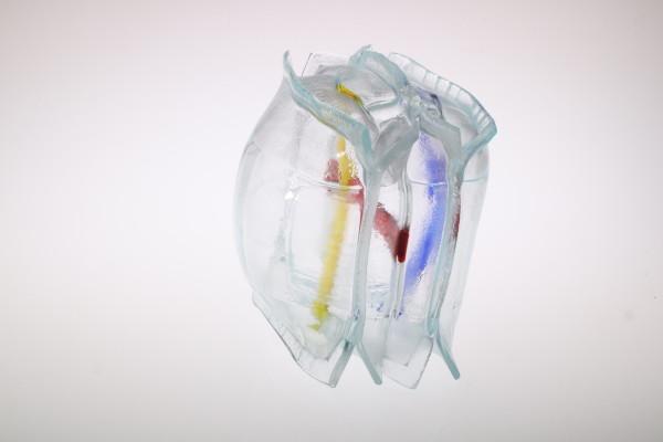 Inflatable 7 (Mondriaan) by Linda van Huffelen