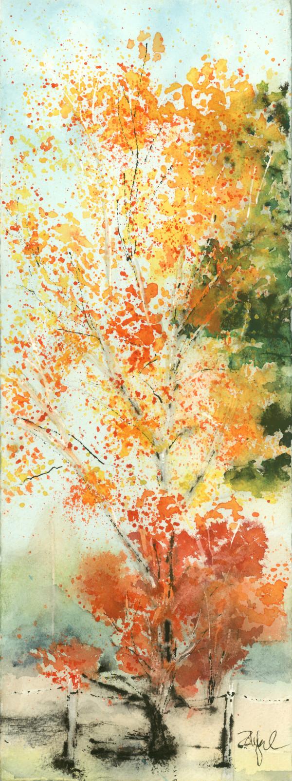 Fall Flourish by Rebecca Zdybel