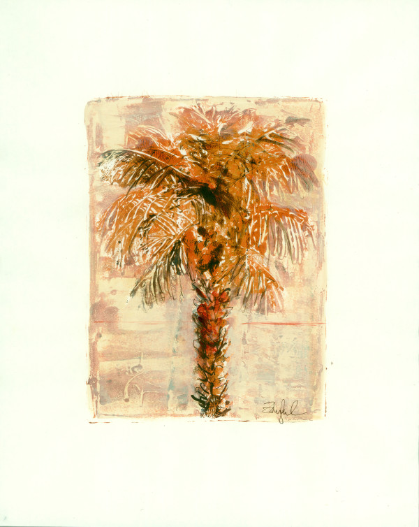 Sultry Palm 2 by Rebecca Zdybel