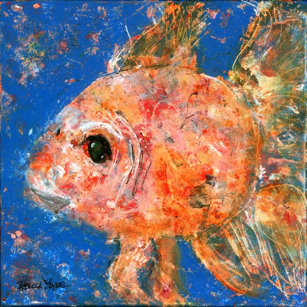 Swishy Fishy by Rebecca Zdybel