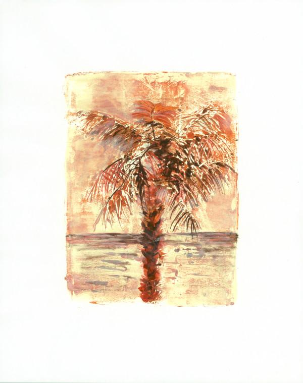 Sultry Palm 1 by Rebecca Zdybel