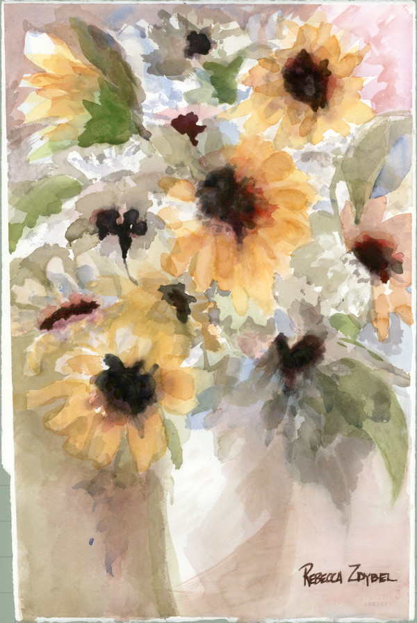 Sunflowers for Janet by Rebecca Zdybel
