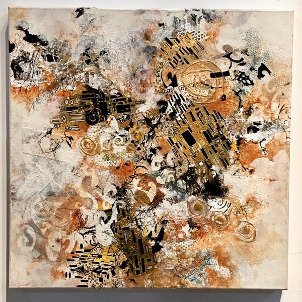 Kind of Klimt 3 by Rebecca Zdybel