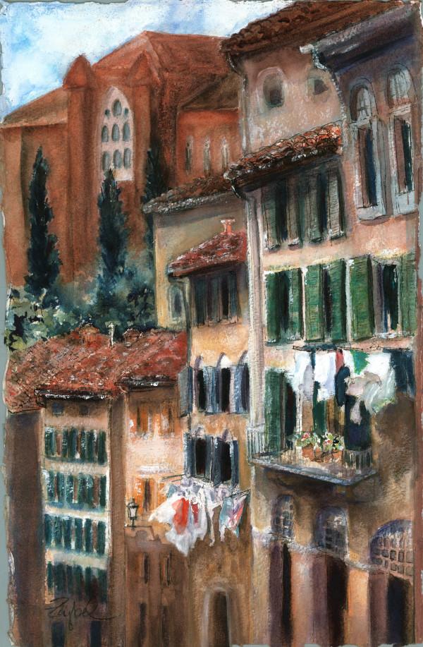 Siena Street by Rebecca Zdybel