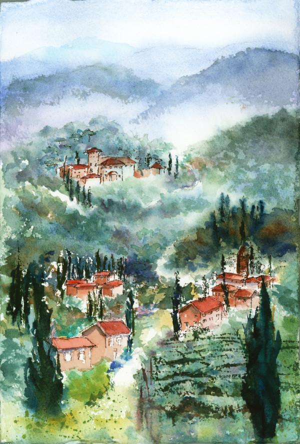 Tuscan Plein Air ~ 3 by Rebecca Zdybel