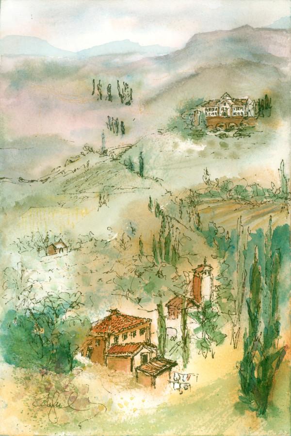 Tuscan Plein Air ~ 1 by Rebecca Zdybel