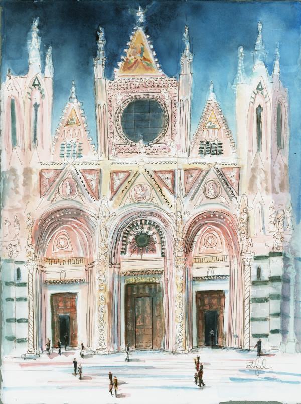 Siena Duomo by Rebecca Zdybel