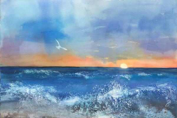Dawn Breaker/Giclee by Rebecca Zdybel