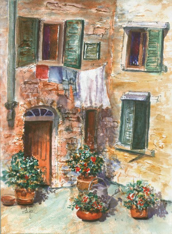 Castellina Corner by Rebecca Zdybel