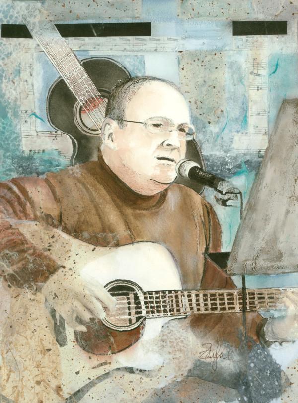 Guitar ~ Jim Ward Duo 1 by Rebecca Zdybel
