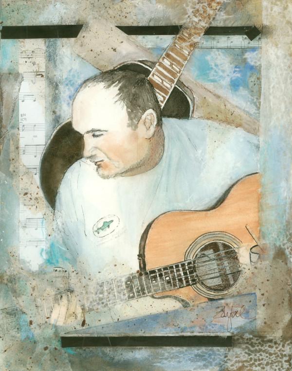 Guitar ~ Jim Ward Duo 2 by Rebecca Zdybel