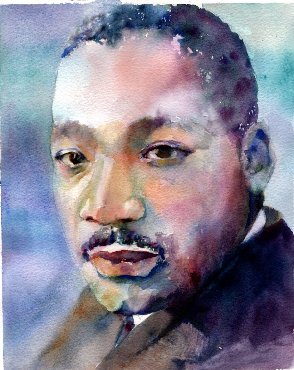 MLK 1 by Rebecca Zdybel