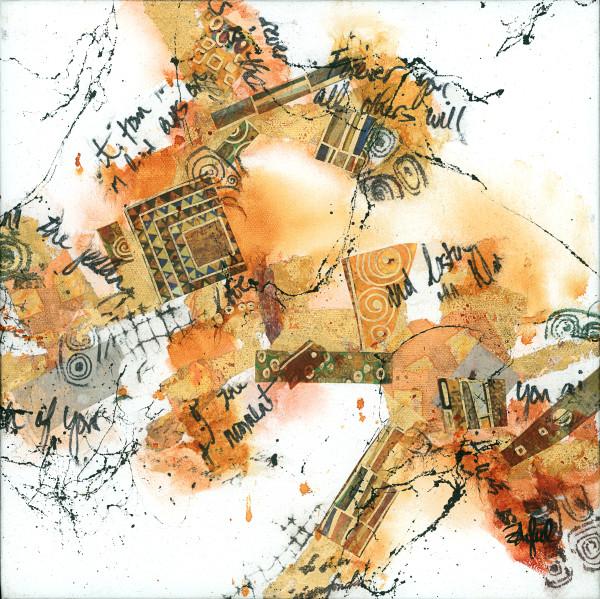 Kind of Klimt 2 by Rebecca Zdybel